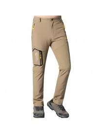 Men's Quick-drying Breathable Wearable Detachable Pants Water Repellent Outdoor Sports Climbing Pant