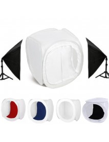30x30x30cm Portable Photo Studio Photography Light Box Lighting Shooting Tent Backdrop