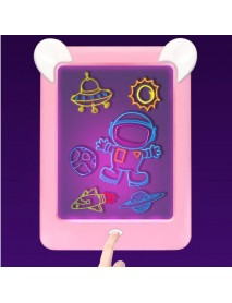 3D Magic Drawing Board Pad LED Writing Tablet Led Kids Adult Display Panel Luminous Tablet Pad Drawing Toy