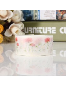 NEW Decorative Washi Sticky Paper Fabric Colorful Tape Gift Self Adhesive Crafts DIY Sticker