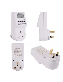 SINOTIMER 2 In 1 Kitchen Timer Switch Socket Convenient Adator And Timer Calculator