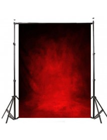 1.5x0.9m Photographic Vinyl Background Retro Red Tie-dyed Studio Backdrop Props