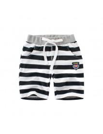 Boys Kids Children Striped Shorts with Pockets