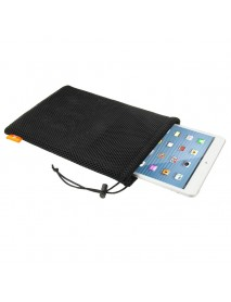 HAWEEL Nylon Mesh Drawstring Pouch Bag Phone Case Cover with Stay Cord for iPad Mini iPhone Samsung