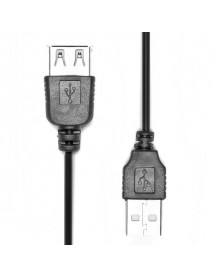 2ft USB 2.0 Male To Female Extension Cable For Camera Printer