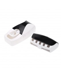 Automatic Bathroom Wall Mounted Toothpaste Dispenser With Five Toothbrush Holder
