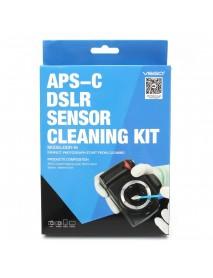 VSGO DDR-16 Professional APS CCD/CMOS 12PCS Cleaning Swab Sensor Cleaner Kit For DSLR Camera