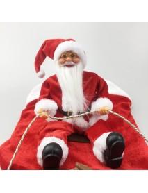 Christmas Santa Claus Cute Pet Dog Warm Dress Jacket Coat Costume Outfit Clothes
