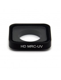 HD MRC UV Filter Diving Waterproof Lens Housing Case for GoPro HERO 5/ HERO 6 Action Camera