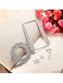 5pcs Cutting Dies Stencil Scrapbook Tool Paper Card New Lovely Embossing Decoration