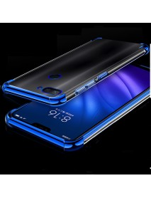 Bakeey Color Plating Transparent Soft TPU Back Cover Protective Case for Xiaomi Mi 8 Lite 6.26 inch