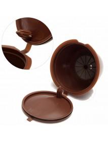 Honana 1 Pcs Reusable Refillable Single Mesh Cup Coffee Replacement Filter Maker Pod