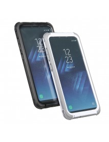 2 In 1 Waterproof Snowproof Dustproof Shockproof PC PET TPU Case for Samsung Galaxy S8 5.8''