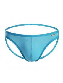 BRAVE PERSON Mens Sexy Solid Color Low Rise Briefs Thongs Underwear