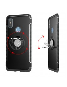 Bakeey Anti-slip Shock-proof 360 Adjustable Ring Holder Protective Case for Xiaomi Mi Max 3
