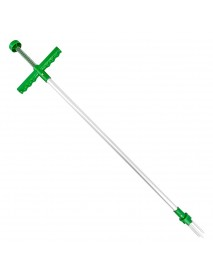 100cm Stainless Steel Garden Fork Weeding Cutter Weed Remover Grass Puller for Gardening Tools