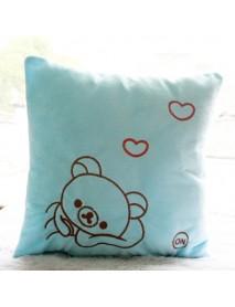 Honana Luminous Pillow Christmas Toys Led Light Plush Pillow Colorful Kids Toys Birthday Gift