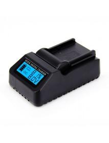 BC-Q1 Digital LCD Quick Battery Charger for EN-EL14 for Car Charging for Nikon DSLR Camera