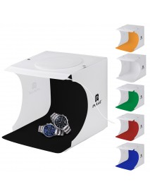 PULUZ PU5021 20cm Folding Portable 550LM Light Photo Light Studio Shooting Tent Box with 6 Backdrops