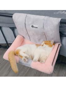 Cat Dog Hammock Hanging Warm Bed House Pet Soft Seat Rack Basket Cradle