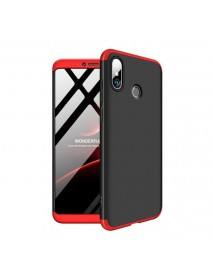 Bakeey 3 in 1 Double Dip 360 Hard PC Full Protective Case For Xiaomi Mi Max 3