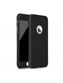 Bakeey 360 Degree Full Body Protection Frosted PC Case Cover With Tempered Glass For iPhone 6 6s