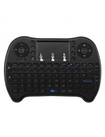 Colorful Backlit Bluetooth Wireless Mini Keyboard Touchpad Air Mouse