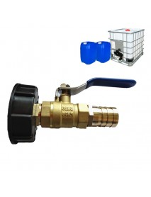For IBC Container Accessories Adapter Cover PVC Plastic Tap Container