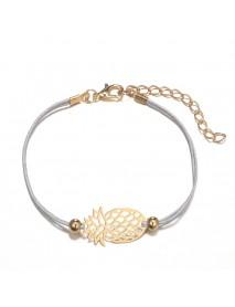 5 Pcs Bohemian Beaded Simple Bracelet Set Turtle Pineapple Map Heart Bracelet For Women