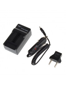 AHDBT-501 Battery Car Charger Dual Port Cradle for Gopro Hero 5 Black with EU Plug