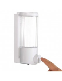 400mL Wall Mounted Liquid Soap Dispenser Bathroom Pump Sanitizer Shower