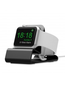 Aluminum Alloy Charging Dock Watch Stand Phone Holder For iWatch/Apple Watch Series 1/2/3/4