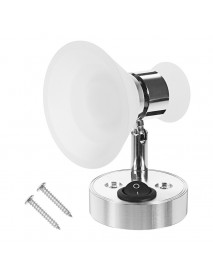 12V Wall Lamp Reading Lamp Spotlights Adjustable Angle, Acrylic Cover White Warm White
