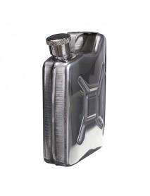 Portable 5oz Stainless Steel Mini Hip Flask Liquor Whisky Pocket Bottle With Funnel