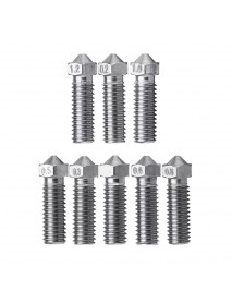 0.2/0.3/0.4/0.5/0.6/0.8/1.0/1.2mm Stainless Steel Lengthen Volcano Nozzle for 1.75mm Filament 3D Pri