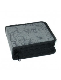 40 Disc DJ Storage Cover Box Case Organizer Carry Bag Protect Holder for CD DVD