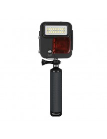 SHOOT XTGP435 Underwater 40M Kangaroo Diving Light 20 LEDs Protective Housing Case for GOPRO Camera