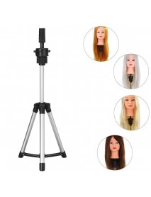 Adjustable Tripod Stand Salon Mannequin Head Wig Stand Hairdressing