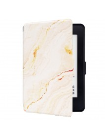 Marble Pattern Painted Smart Sleep Protective Cover Case For Kindle Paperwhite 1/2/3 eBook Reader