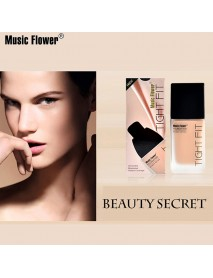 Genuine Music Flower 6 Colors Light Foundation BB Cream Long-lasting Moisturizer Refreshing Cheek Concealer Silky Waterproof Make up Base
