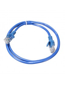0.75m Blue Cat5 RJ45 Ethernet LAN Networking Cable