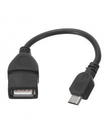 13.5cm Female To Micro USB Pore OTG Charger Cable For Tablet