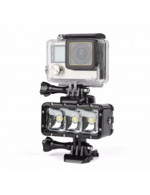 SHOOT XTGP253 Waterproof 30m Diving Video Light Dimmable LED Underwater for Action Cameras
