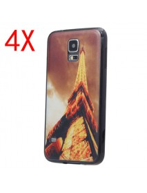 4X Iron Tower TPU Protective Case For Samsung S5 i9600