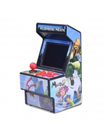 DATA FROG 16 Bit Built-in 156 Classic Games Retro Mini Handheld Arcade Game Console Game Player Support AV Output