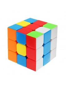 Classic Magic Cube Toys 3x3x3 PVC Sticker Block Puzzle Speed Cube Sugar Color