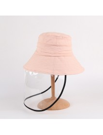 Anti-fog Brim Hat Saliva Protection Fisherman Hat