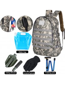 35L Outdoor Tactical Backpack Military Camouflage Bag Travel Soft bag School bag