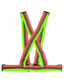 COLOR Safe Reflective Vest Belt for Women Girls Night Running Jogging Biking