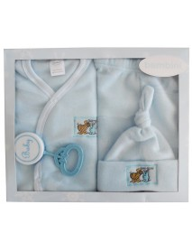 Bambini 4 Piece Fleece Set - Blue